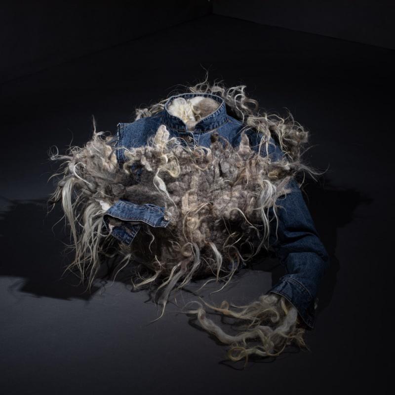 Creación con lana de Soledad Santisteban